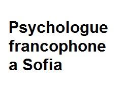 Psychologue francophone a Sofia